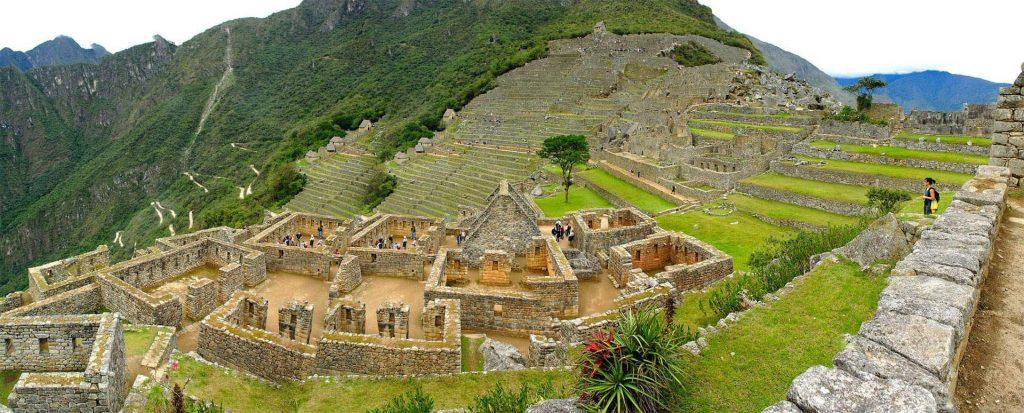 Short Inca Trail - Machu Pichu ruins