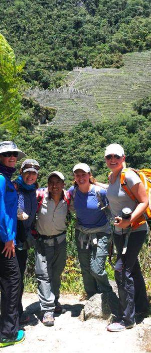 wiñay wayna in inca trail